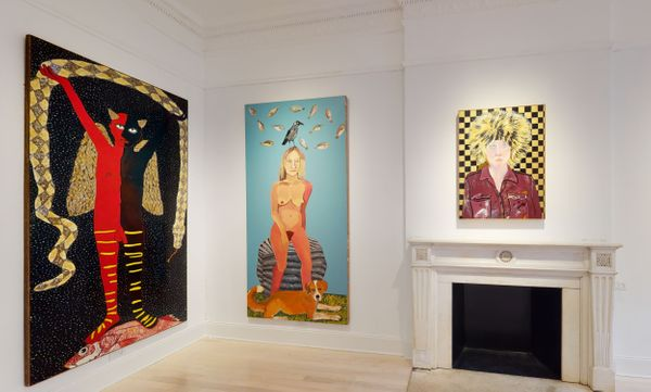 Solo exhibition by Joan Brown, Venus Over Manhattan (3 of 7)