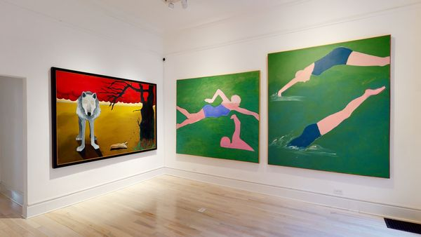Solo exhibition by Joan Brown, Venus Over Manhattan (6 of 7)