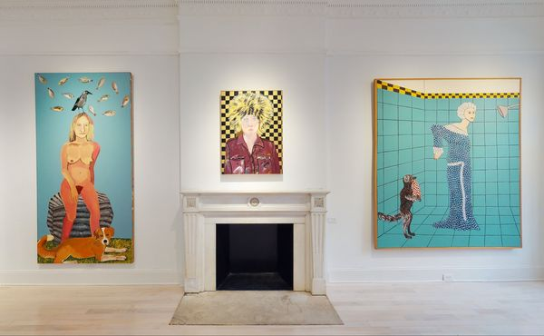 Solo exhibition by Joan Brown, Venus Over Manhattan (7 of 7)