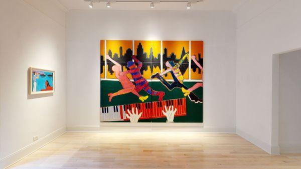 Solo exhibition by Joan Brown, Venus Over Manhattan (5 of 7)