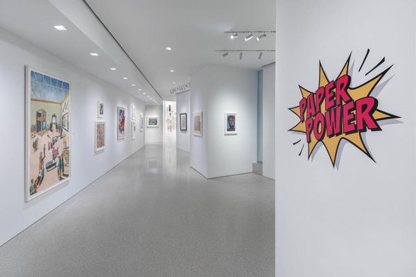 Paper Power (Group Exhibition), Michael Rosenfeld Gallery