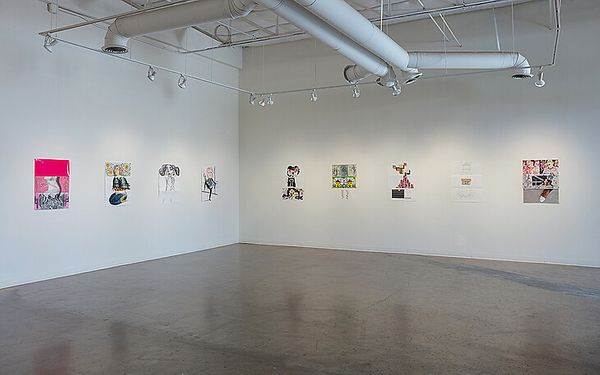 Exquisite Corpse (Group Exhibition), conduit gallery (6 of 6)