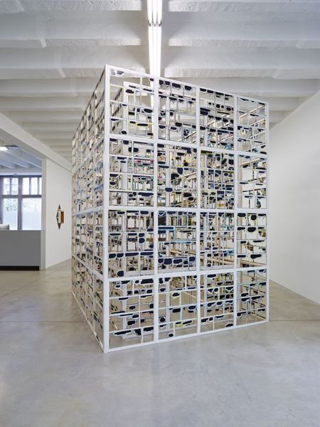 illicit constuctions by Axel Lieber, Taubert Contemporary