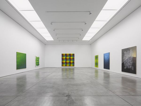 Solo exhibition by Peter Schuyff, White Cube | Mason's Yard (8 of 8)