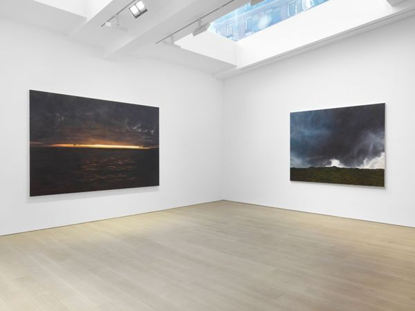 Solo exhibition by April Gornik, Miles McEnery Gallery I 525 W 22nd Street (3 of 5)