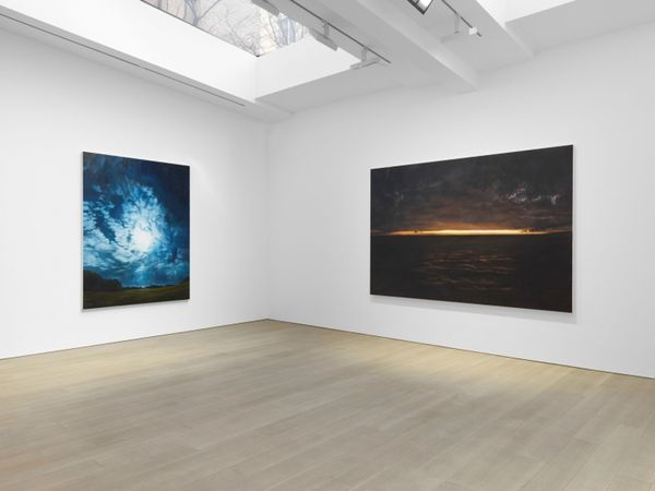 Solo exhibition by April Gornik, Miles McEnery Gallery I 525 W 22nd Street (2 of 5)