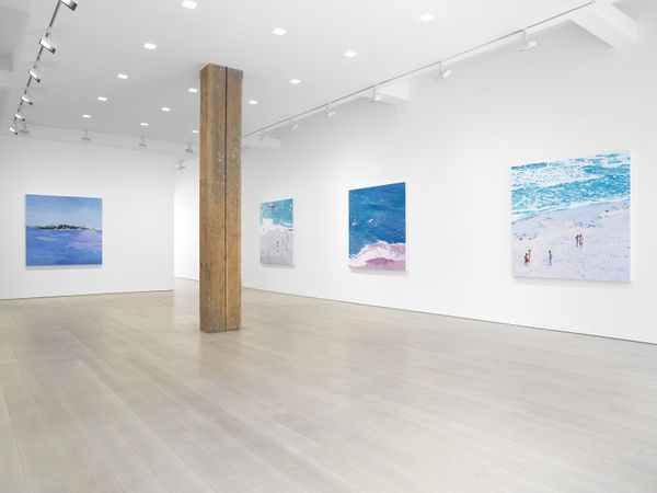 Solo exhibition by Isca Greenfield-Sanders, Miles McEnery Gallery I 525 W 22nd Street (2 of 4)