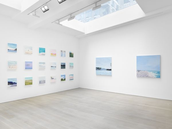Solo exhibition by Isca Greenfield-Sanders, Miles McEnery Gallery I 525 W 22nd Street (3 of 4)