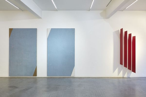 Homage to Sassetta by Paolo Serra, Ronchini Gallery