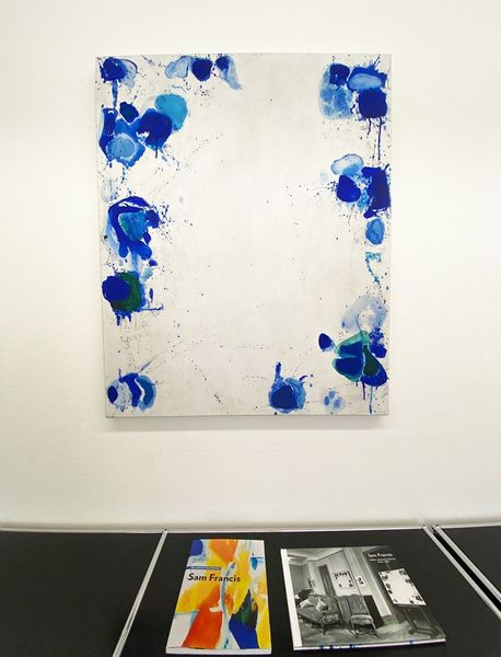Informal and Abstract Highlights Focus Sam Francis (Group Exhibition), Galerie Carzaniga