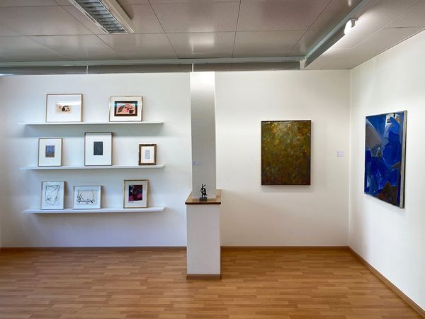 Informal and Abstract Highlights Focus Sam Francis (Group Exhibition), Galerie Carzaniga (5 of 7)