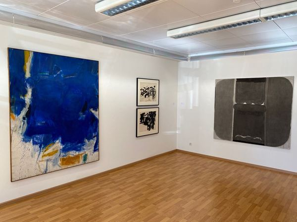Informal and Abstract Highlights Focus Sam Francis (Group Exhibition), Galerie Carzaniga (4 of 7)