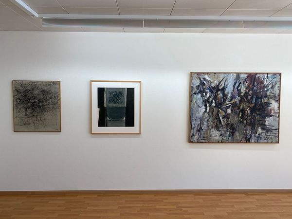 Informal and Abstract Highlights Focus Sam Francis (Group Exhibition), Galerie Carzaniga (7 of 7)