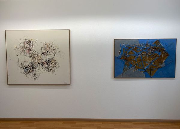 Informal and Abstract Highlights Focus Sam Francis (Group Exhibition), Galerie Carzaniga (6 of 7)