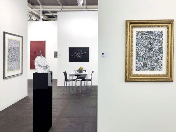 The Carzaniga gallery at Art Basel 2019
