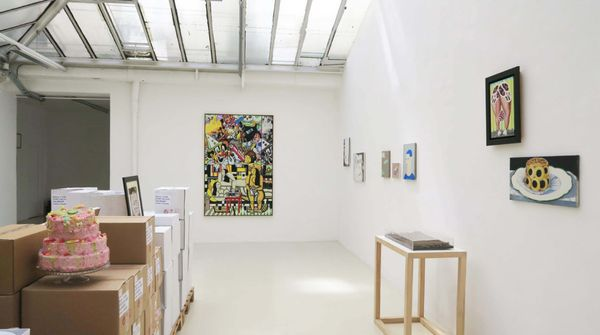 white plate / white cup (Group Exhibition), Galerie Jean Brolly (6 of 6)