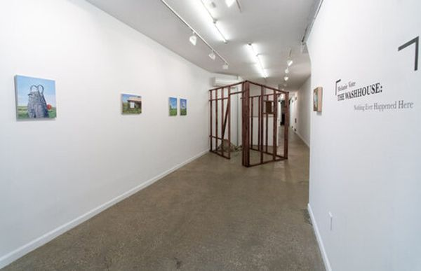 The Washhouse: Nothing Ever Happened Here by Melanie Vote, Equity Gallery