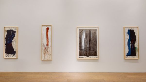 Pat Steir: Waterfall Paintings on Paper by Pat Steir, Lévy Gorvy | New York (3 of 8)