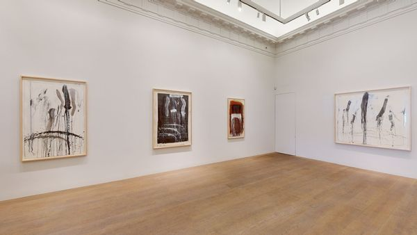 Pat Steir: Waterfall Paintings on Paper by Pat Steir, Lévy Gorvy | New York (7 of 8)