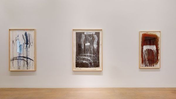 Pat Steir: Waterfall Paintings on Paper by Pat Steir, Lévy Gorvy | New York (5 of 8)