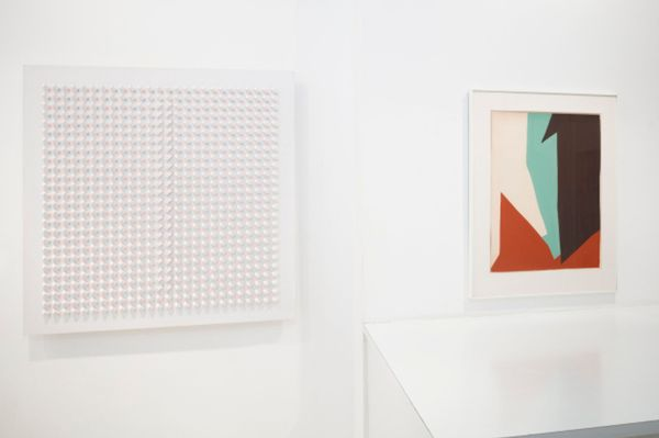 group show I mage of a collection,  14  historic artists of the gallery (Group Exhibition), Galerie Denise René | Rive Gauche