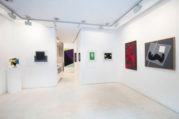 group show I mage of a collection,  14  historic artists of the gallery (Group Exhibition), Galerie Denise René | Rive Gauche (4 of 7)