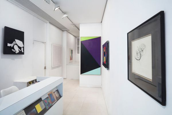 group show I mage of a collection,  14  historic artists of the gallery (Group Exhibition), Galerie Denise René | Rive Gauche (2 of 7)