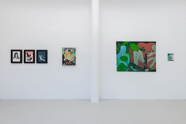 Untitled (But Loved) (Group Exhibition), Bosse & Baum