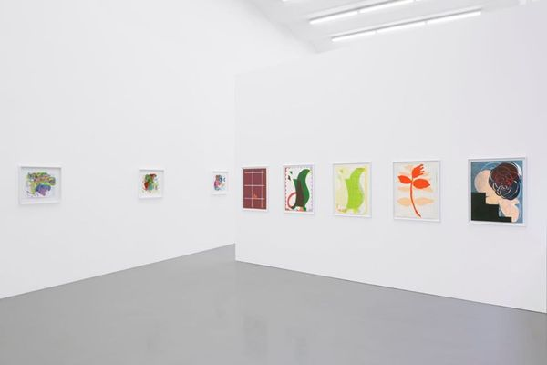 1.Color 2.Hole and 3.Joke. Selected works on paper (Group Exhibition), Galerie Meyer Kainer (3 of 6)