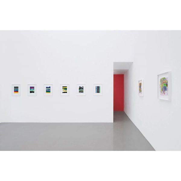1.Color 2.Hole and 3.Joke. Selected works on paper (Group Exhibition), Galerie Meyer Kainer (4 of 6)