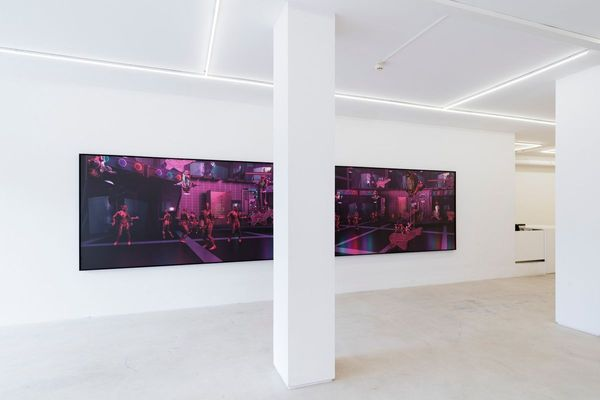 Las chicas (Avignon) (Group Exhibition), Lundgren Gallery (11 of 11)