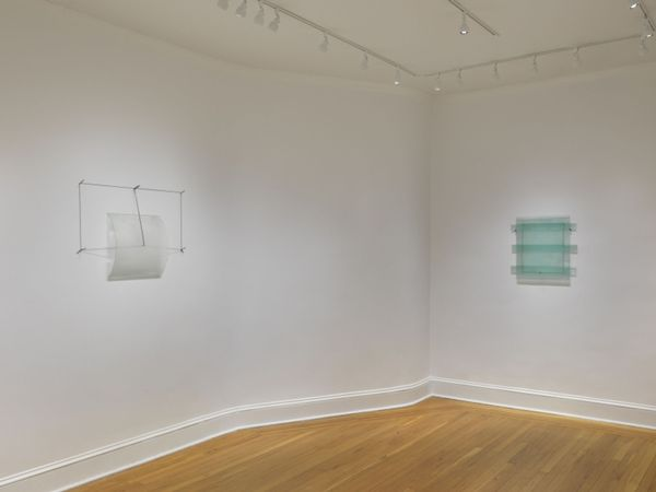 Supculture and drawings from the 1970s by Christopher Wilmarth, Craig F. Starr Gallery