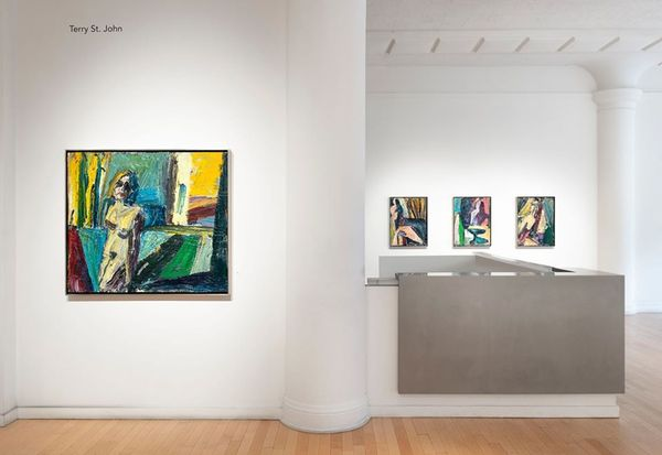 Solo exhibition by Terry St. John, Dolby Chadwick Gallery