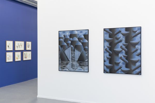 L'heure Bleue (Part I) (Group Exhibition), PLUS-ONE Gallery (9 of 12)