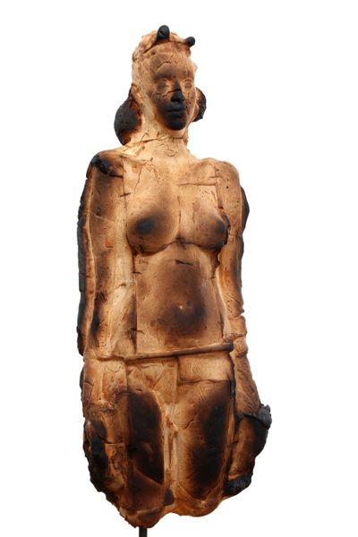 Bust of woman by Matteo Lucca, Luisa Catucci Gallery