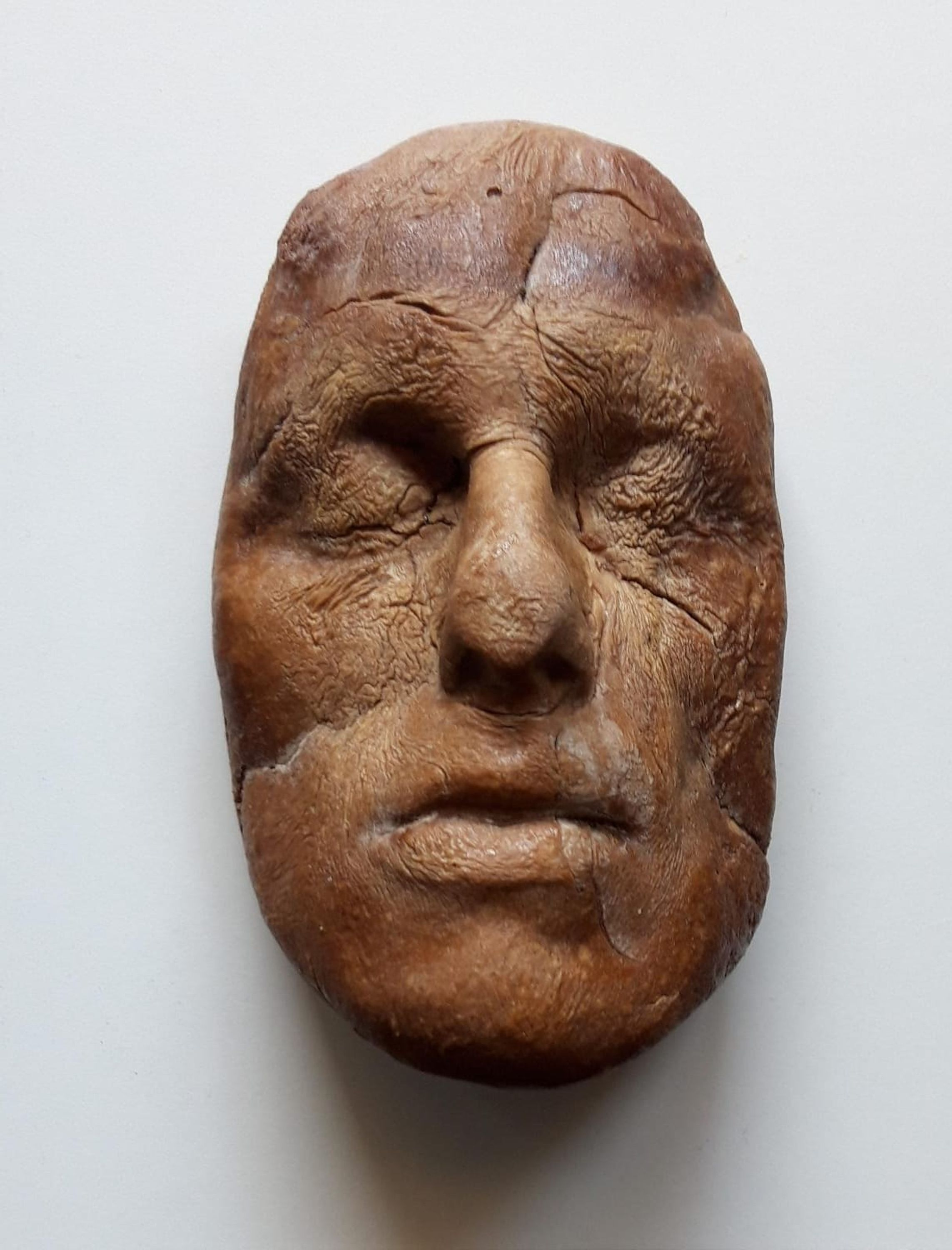Volto 1 (face1) by Matteo Lucca, Luisa Catucci Gallery