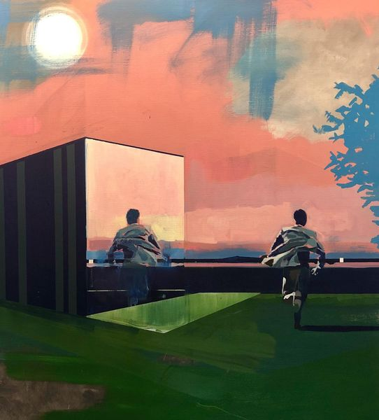 Early Morning by Kenneth Blom, Luisa Catucci Gallery