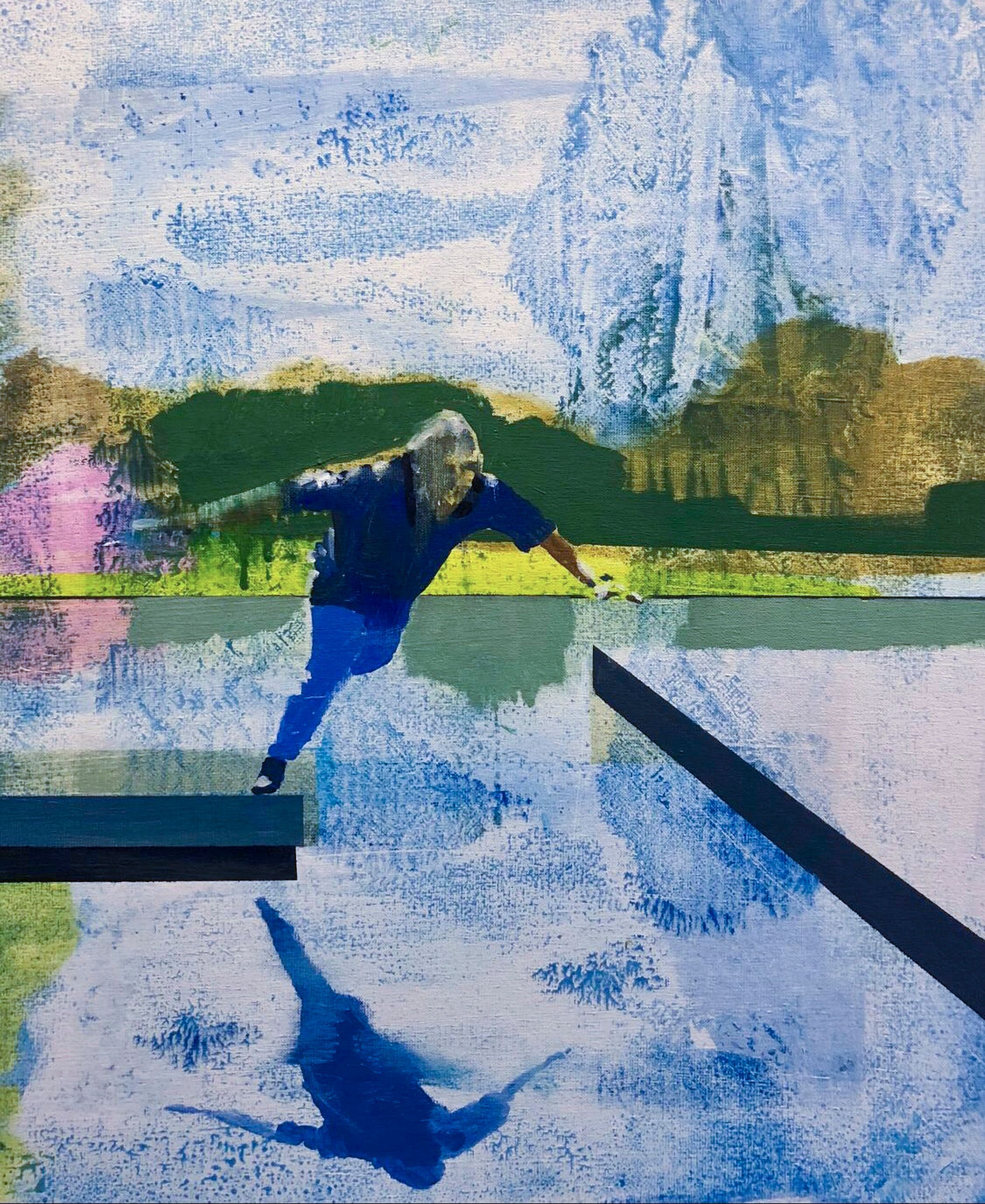 Pond by Kenneth Blom, Luisa Catucci Gallery
