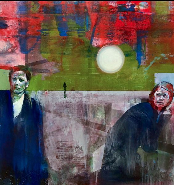 What They Saw by Kenneth Blom, Luisa Catucci Gallery