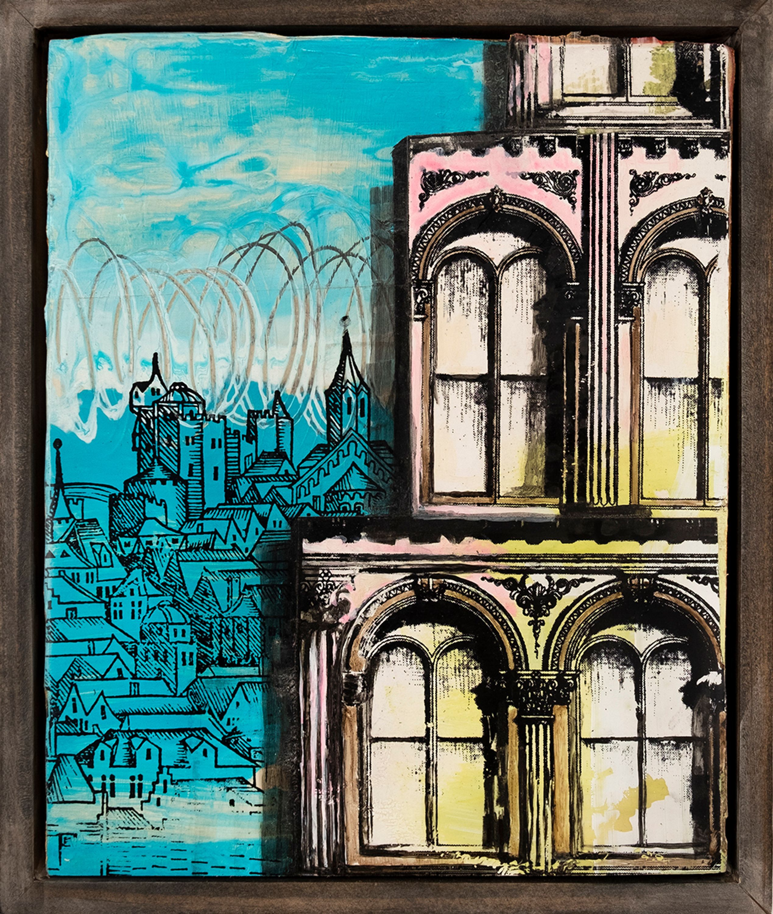 View From Here by David Hochbaum, Luisa Catucci Gallery