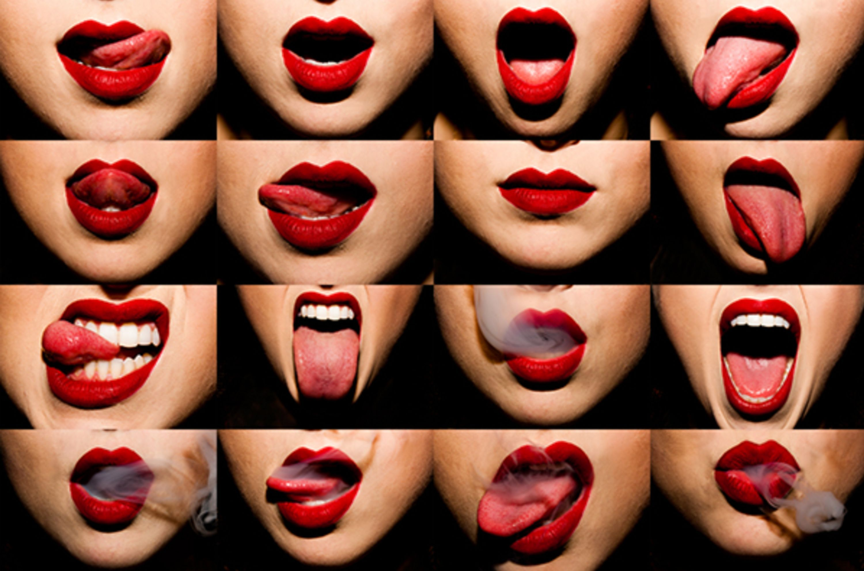 Mouthful by Tyler Shields, Plan X art gallery