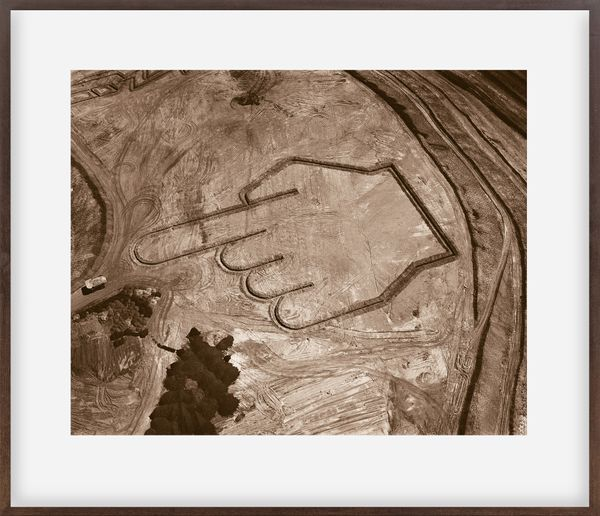 Pictures of Earthworks: Pointing Hand (Itabira Iron Mine)