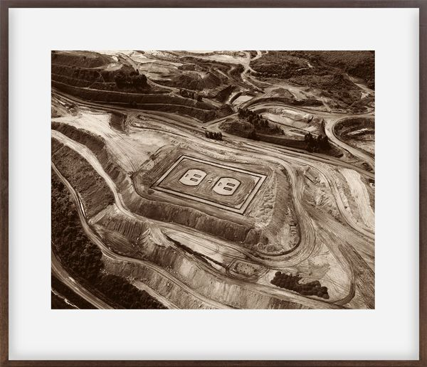 Pictures of Earthworks: Outlet (Fabrica, Iron Mine)