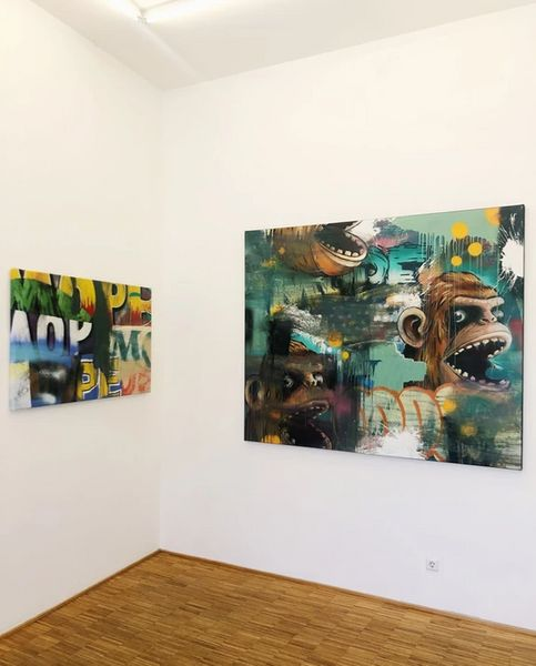 Mope Deep by Alain Welter, Valerius Gallery (5 of 6)