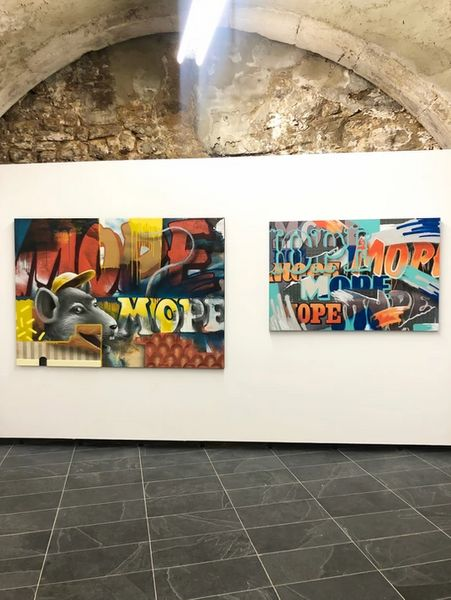 Mope Deep by Alain Welter, Valerius Gallery