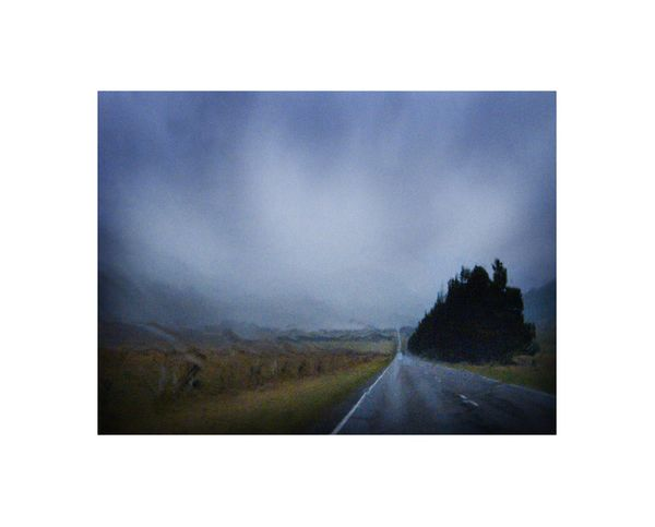 Road to Arthur's Pass in Rain by Robyn Hills, Anthony Horth Gallery