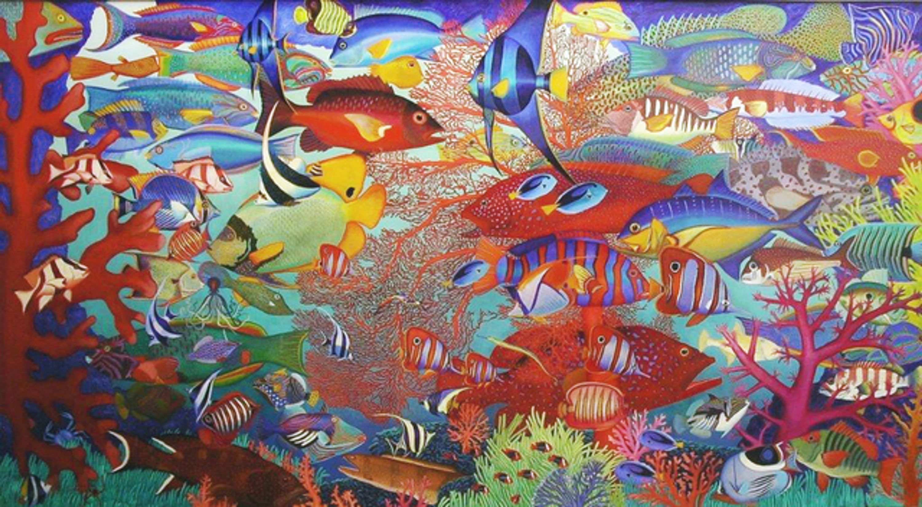 Australia's Great Barrier Reef by Bob Marchant, Anthony Horth Gallery