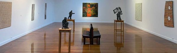 International, Australian & Aboriginal Paintings & Sculpture