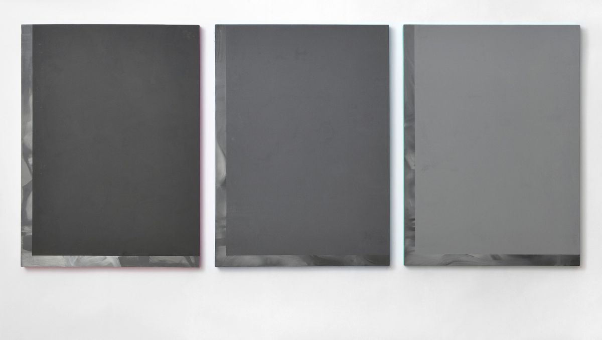 Three variations of grey for a multiple image denied (hands of parliament)