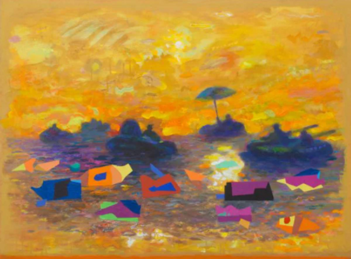 Rising Waters and Quasi Portraits: New Paintings